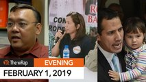 Harry Roque aborts senatorial bid | Evening wRap