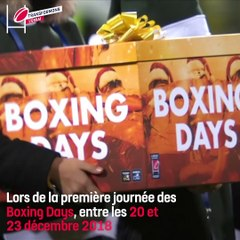 Transformons l'essai | La collecte des Pères Noël verts du Secours Populaire lors des Boxing Days