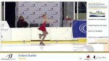 Championnats B de la section Québec - Patinage Canada 2019 / Juvénile moins de 14 ans Dames Gr.1
