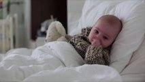 Bébé enrhumé : nos astuces pour qu'il continue à bien dormir !