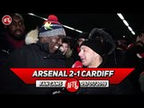 Arsenal 2-1 Cardiff City | I'm Looking Forward To Seeing Denis Suarez In Action! (Sonny)