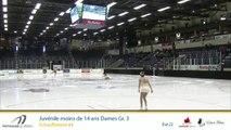 Championnats B de la section Québec - Patinage Canada 2019 / Juvénile moins de 14 ans Dames Gr.3