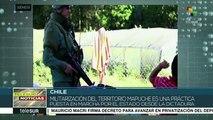 Niños de comunidades mapuches sufren la represión del Estado chileno
