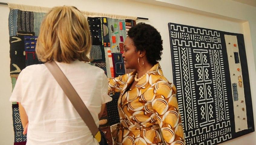 Art : quand Boukounta Armand nous fait découvrir le patchwork made in Mali