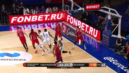 EuroLeague 2018-19 Highlights Regular Season Round 21 video: CSKA 99-69 Buducnost