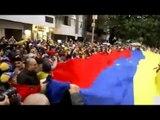Venezolanos se manifestan frente a embajada en México, piden a Obrador desconocer a Maduro