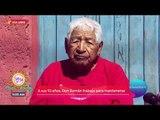 Día libre a Don Román, un señor que trabaja ¡a sus 93 años! | Sale el Sol