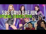 SBS GAYO DAEJUN 가요대전 2018 Special stages (Reactions)