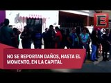 Activan protocolos de seguridad en Oaxaca por temblor de magnitud 6.5