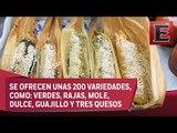 Feria del Tamal en Iztapalapa para consentir el paladar