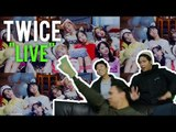 "TWICE ""SAY YES"" & ""WHAT IS LOVE"" definitely not live stage reactions*"