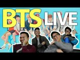 BTS LIVE STAGE REACTION! (Save me, I'm Fine and IDOL)