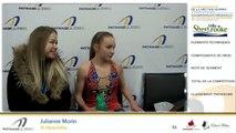 Championnats B de la section Québec - Patinage Canada 2019 / Juvénile moins de 14 ans Dames Gr.5