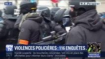 Violences policières: 116 enquêtes judiciaires ont été ouvertes par l'IGPN