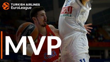 Round 21 MVP: Nando De Colo, CSKA Moscow