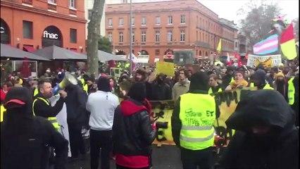 Toulouse : acte XII des Gilets jaunes