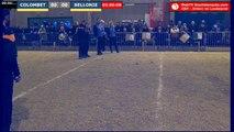 32e Coupe de France Arlanc vs Loubeyrat : Triplette mixte COLOMBET vs BELLONIE