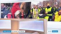 """""""Gilets jaunes"""" : une marche en soutien aux blessés des manifestations"""