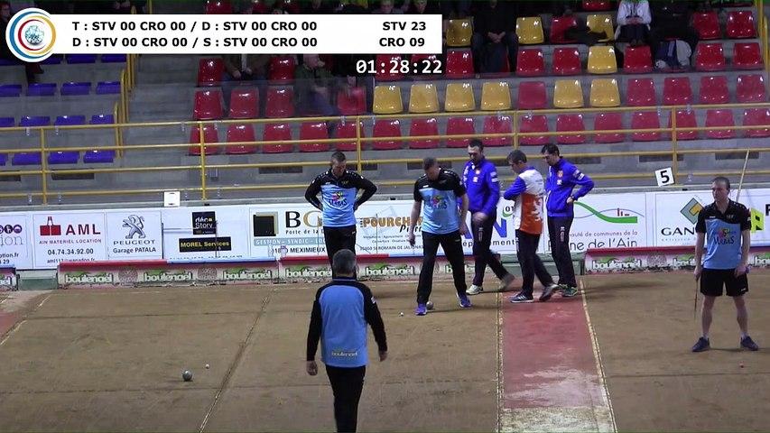Quatrième tour, France Club Elite 1, J4 groupe Titre,  Saint-Vulbas contre CRO Lyon,  saison 2018/2019