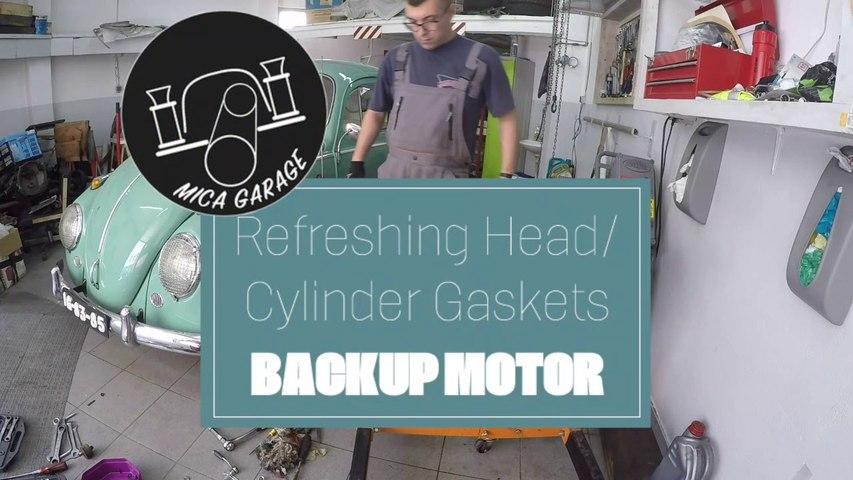 VW Beetle - Backup Motor Rebuild (part 3) - Head, cylinders and pistons refresh #vwbeetle #vwcarocha
