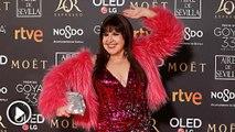 Peor vestidas en la alfombra roja de los premios Goya 2019