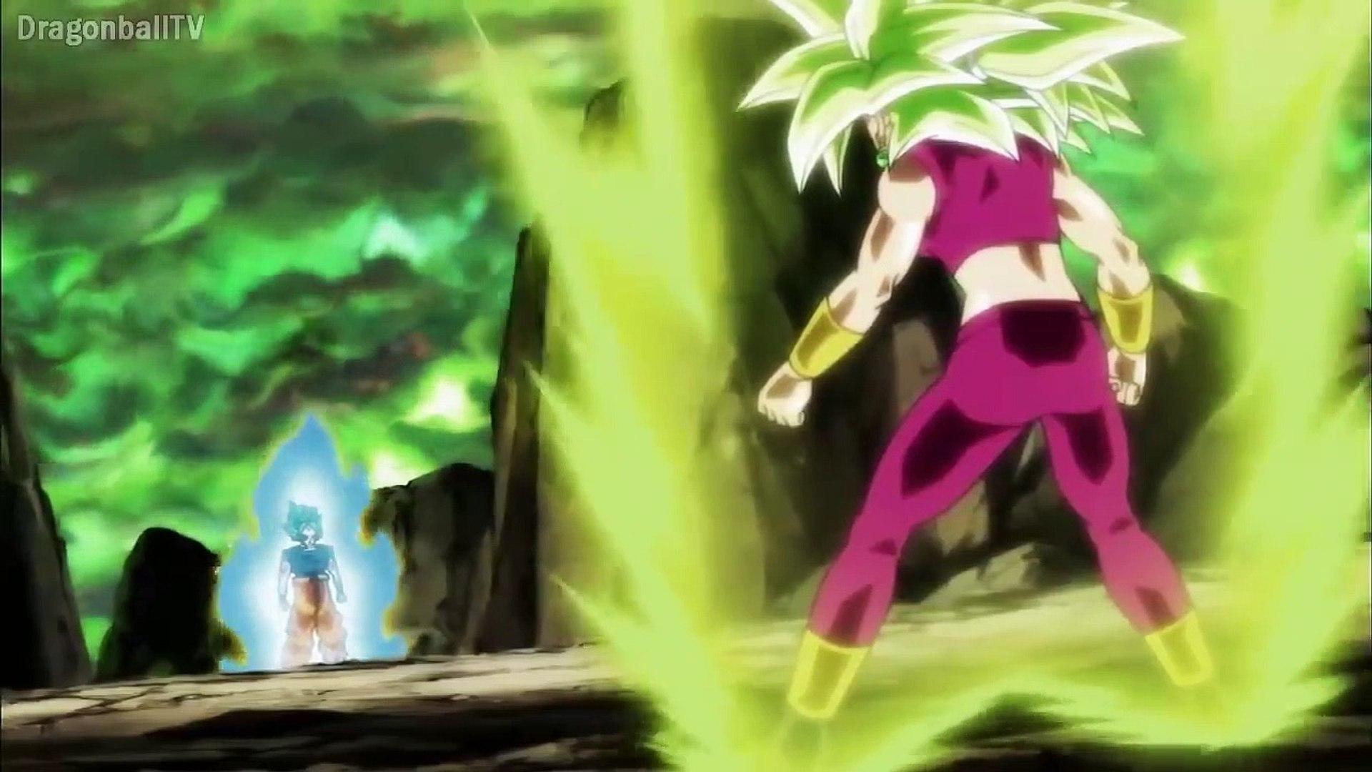 Goku Ssj Blue Vs Kefla Ssj Dragon Ball Super Español Latino Vídeo Dailymotion