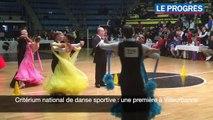 Critérium national de danse sportive _ une première à Villeurbanne