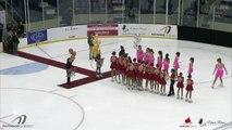 Championnats régionaux de patinage synchronisé 2019 / Élémentaire_Novice