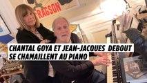 Chantal Goya et Jean-Jacques Debout se chamaillent au piano