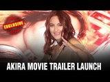 Akira Movie Trailer Launch | Sonakshi's Action Entry On Stage | Akira Hindi Movie | Akira Film 2016