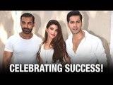Dishoom team celebrates their success with the media | John Abraham | Varun Dhawan | Jacqueline