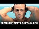 Tiger & Jacqueline Meet Superhero Chhota Bheem | Remo Dsouza | A Flying Jatt | Bollywood News 2016