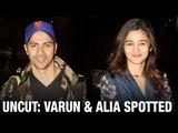 UNCUT Varun Dhawan & Alia Bhatt Spotted At Airport | Latest Bollywood News | Bollywood 2016