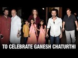 Bollywood celebs celebrate Ganesh Chaturthi | Anil | Sanjay | Farah | Manish | Bollywood News 2016