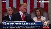 """""""Je vais le faire construire"""", Donald Trump reste ferme sur le mur qu'il veut à la frontière mexicaine"""