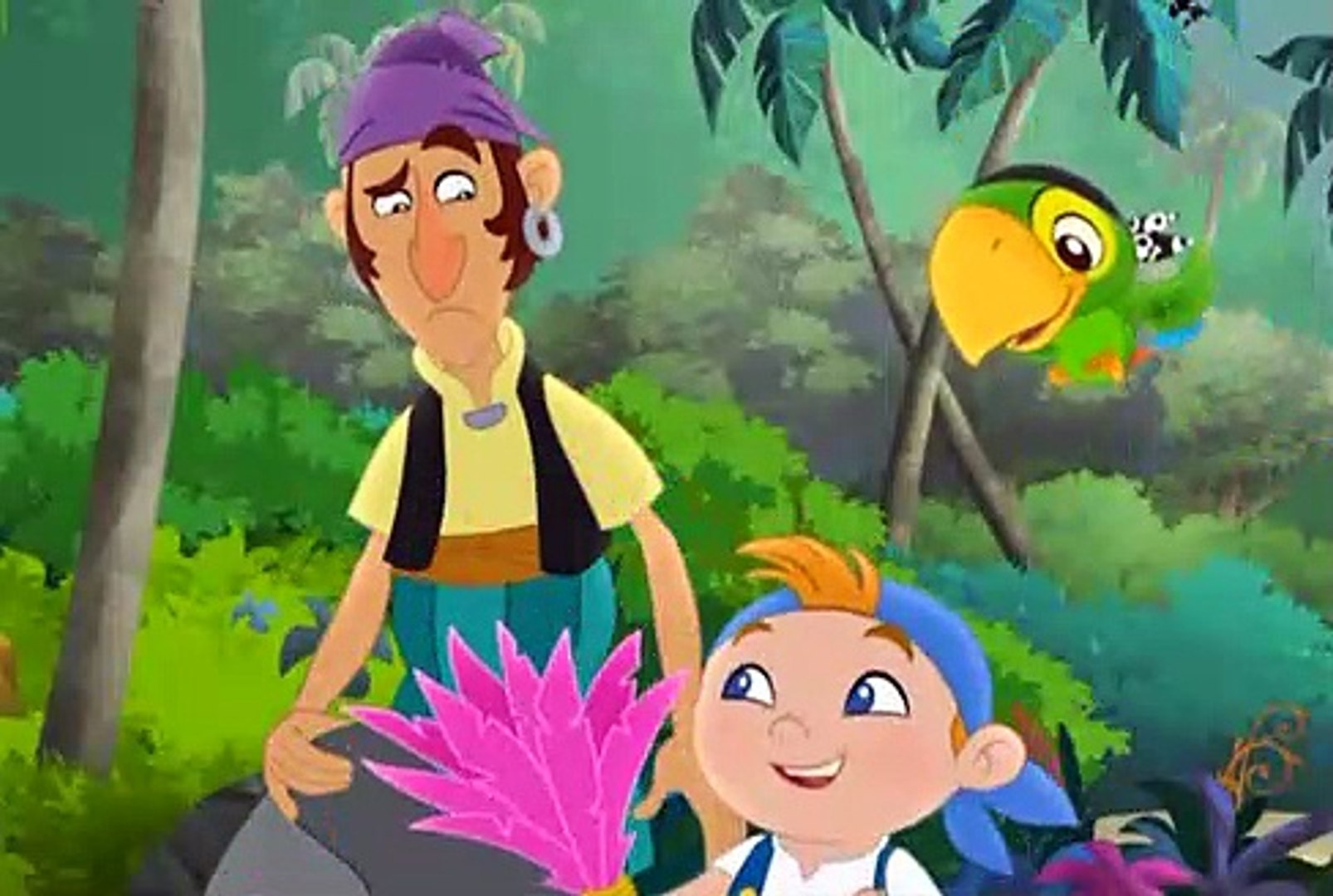 Jake And The Never Land Pirates S02e04 Captain Hook S Hooks Mr Smee S Pet Video Dailymotion
