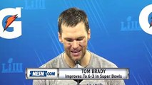 Tom Brady On Julian Edelman's Super Bowl MVP Performance