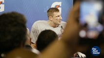 Rob Gronkowski on Painful Shot to his Quad