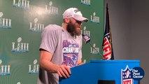 Super Bowl LIII MVP Julian Edelman On Tom Brady