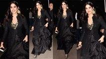 Jhanvi Kapoor walks the ramp & showcase bandhgala for a contemporary woman like a diva | Boldsky
