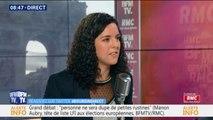 """Violences policières: Manon Aubry dénonce """"l'utilisation d'armes de guerre"""""""