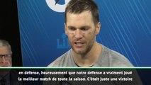 "Super Bowl LIII - Brady : ""Une victoire incroyable"""