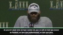 """Super Bowl LIII - Edelman : """"Tom Brady est comme un frère"""""""