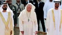 Le pape François est arrivé à Abou Dhabi