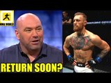 We have started talks with Conor McGregor for his next fight-Dana White,Holm Holly reacts