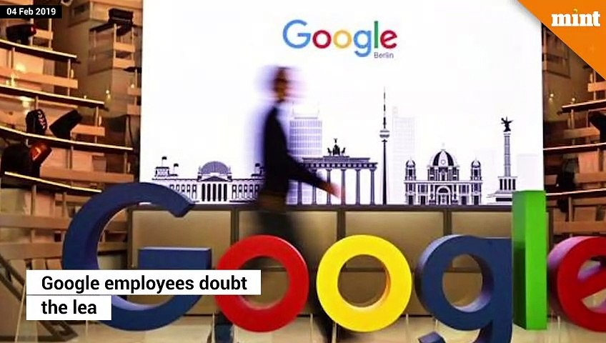 Google employees doubt the vision of CEO Sundar Pichai