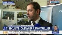 """Christophe Castaner: """"Une personne blessée quelle qu'elle soit, ça n'est jamais une bavure"""""""