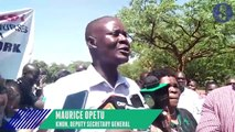 Kisumu nurses vow not to return to work until demands are met