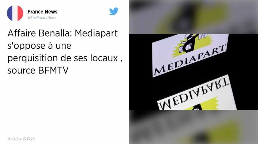 Affaire Benalla. Mediapart refuse une perquisition dans ses locaux après la révélation d'enregistrements
