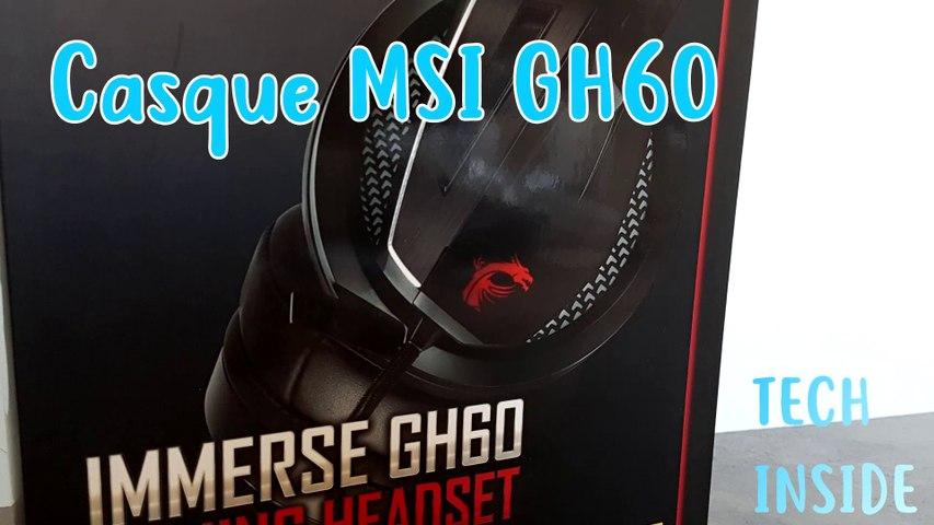 MSI GH60 Gaming Headset - Tech Inside